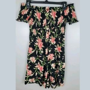 3/$25 J For Justify Floral Romper Size Small